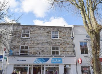 Thumbnail 2 bed flat to rent in The Moor, Falmouth