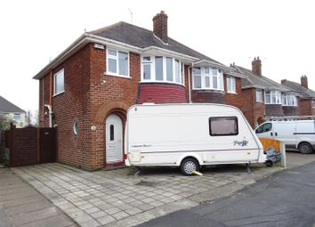 Thumbnail 3 bed semi-detached house for sale in Scotlands Drive, Coalville, Leicestershire