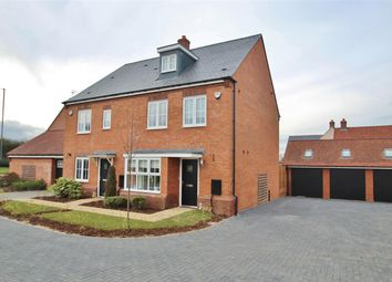 Thumbnail 4 bed town house for sale in Cotton End, Buckingham
