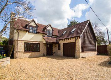 Thumbnail 5 bedroom detached house for sale in Park Lane, Dry Drayton, Cambridge