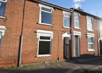 Thumbnail 3 bed terraced house to rent in Rectory Road, Ipswich
