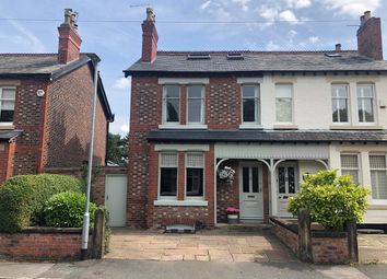 Thumbnail 5 bed semi-detached house for sale in Princess Road, Wilmslow