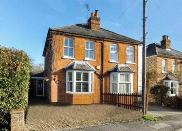 Thumbnail 2 bed semi-detached house for sale in Fox Corner, Worplesdon, Guildford