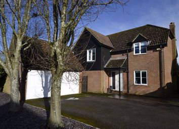 Thumbnail 4 bed detached house for sale in Peel Gardens, Kingsclere, Berkshire