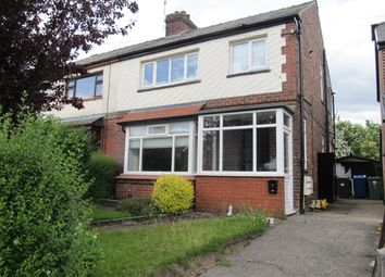 Thumbnail 3 bed semi-detached house to rent in Lime Grove, Prestwich, Manchester