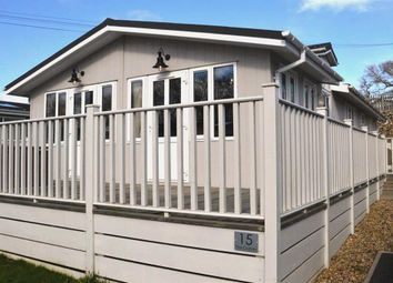 Thumbnail 2 bed mobile/park home for sale in Bacton Road, North Walsham