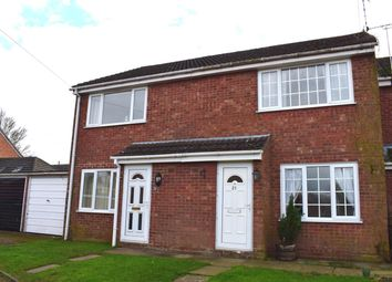 Thumbnail 2 bed terraced house for sale in Cromwell Close, Walcote, Lutterworth
