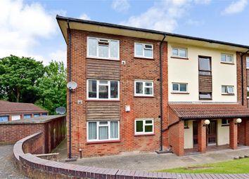 Thumbnail 2 bedroom flat for sale in Sunderland Close, Rochester, Kent