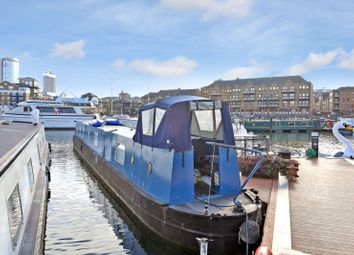 Thumbnail 2 bed houseboat for sale in Limehouse Basin Marina, Limehouse, London