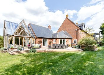 Thumbnail 4 bed detached house for sale in North Green, West Hanney, Wantage