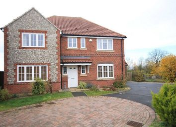Thumbnail 4 bed detached house for sale in Aldbourne Road, Baydon, Marlborough, Wiltshire