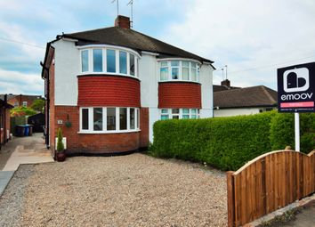 Thumbnail 3 bed semi-detached house for sale in Shelley Avenue, Burton-On-Trent, Derbyshire