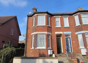 Thumbnail 3 bed end terrace house to rent in Una Road, Parkeston, Harwich