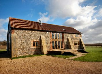 Thumbnail 5 bedroom barn conversion to rent in Hildersham Road, Abington, Cambridge