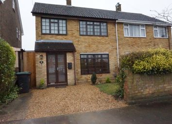 Thumbnail 3 bed semi-detached house for sale in Reaper Close, Luton