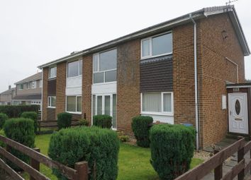 Thumbnail 2 bed flat to rent in Chatton Close, Chester Le Street