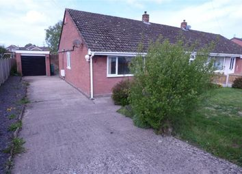 Thumbnail 3 bed semi-detached bungalow for sale in Acredale Road, Carlisle, Cumbria