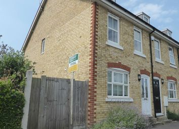 Thumbnail 3 bed end terrace house to rent in Hillview Road, Whitstable