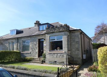 Thumbnail 3 bed semi-detached bungalow for sale in Braelossie, 12 Connor Street, Peebles