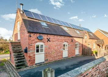 Thumbnail 3 bed barn conversion to rent in Withington, Leigh, Stoke-On-Trent