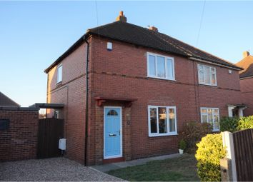 Thumbnail 2 bed semi-detached house for sale in Highfield Grove, Allerton Bywater, Castleford