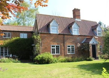Thumbnail 4 bedroom detached house for sale in The Street, Rushmere, Lowestoft