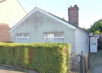 Thumbnail 2 bedroom detached bungalow for sale in Manor Avenue, Fletton, Peterborough