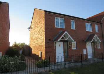Thumbnail 2 bed end terrace house for sale in Perry Close, Spalding