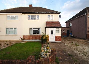 Thumbnail 3 bed semi-detached house for sale in Winchester Avenue, Upminster