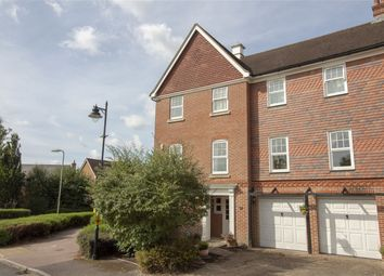 Thumbnail 4 bed end terrace house for sale in Elvetham Crescent, Fleet