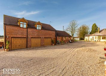 Thumbnail 5 bed detached bungalow for sale in Kirkby Lane, Kirkby-On-Bain, Woodhall Spa, Lincolnshire