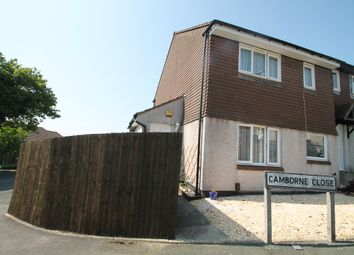 Thumbnail 1 bedroom end terrace house for sale in Camborne Close, Plymouth