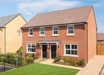 "Thumbnail 3 bedroom semi-detached house for sale in ""Archford"" at Southern Cross, Wixams, Bedford"