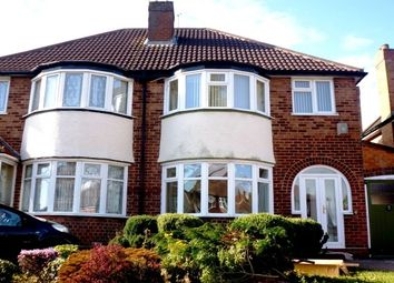Thumbnail 3 bed semi-detached house to rent in Westridge Road, Billelsely, Birmingham