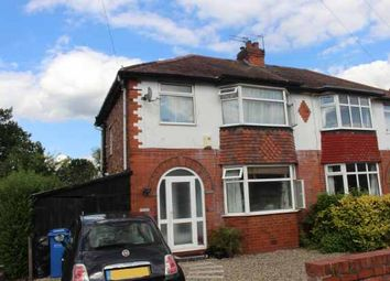 Thumbnail 3 bed semi-detached house for sale in Fairfield Avenue, Cheadle Hulme, Cheshire