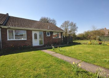 Thumbnail 3 bed terraced bungalow for sale in Broadfields Close, Gislingham, Eye