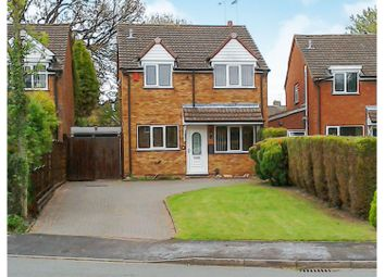 Thumbnail 3 bed detached house for sale in Hammonds Croft, Stafford