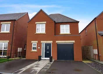 Thumbnail 3 bedroom detached house for sale in Harvester Way, Clowne, Chesterfield