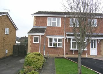 Thumbnail 2 bed semi-detached house to rent in Malia Road, Tapton, Chesterfield, Derbyshire