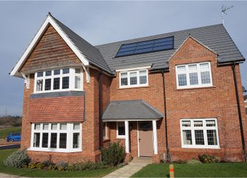 Thumbnail 4 bed detached house for sale in Manor Road, Barton Seagrave