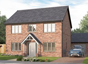 "Thumbnail 4 bed detached house for sale in ""The Lathbury"" at Corner Farm, Luke Lane, Brailsford, Ashbourne"