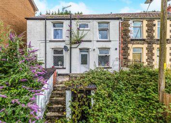 Thumbnail 2 bed end terrace house for sale in Luton Street, Blaenllechau, Ferndale