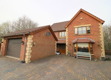 Thumbnail 6 bed detached house for sale in Swn Yr Afon, Kenfig Hill, Bridgend.