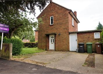 Thumbnail 2 bedroom semi-detached house for sale in Beechwood Close, Peterborough