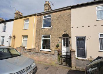 Thumbnail 2 bedroom terraced house for sale in Lorne Road, Lowestoft