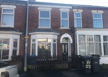 Thumbnail Terraced house for sale in Thoresby Street, Hull