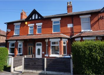 Thumbnail 3 bed terraced house for sale in Carrington Lane, Sale