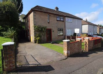 Thumbnail 3 bed semi-detached house for sale in Maple Road, Greenock