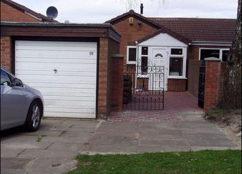 Thumbnail 2 bed bungalow for sale in East Road, Longsight, Manchester