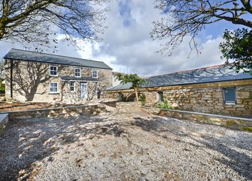 Thumbnail 6 bed detached house for sale in Great Bosullow Farmhouse And Barn, Newbridge, Penzance
